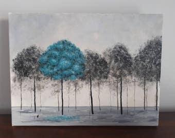 Turquoise tree