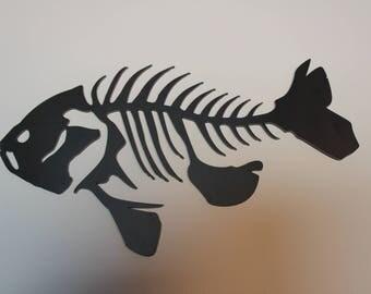 Metal Fish Art Bluegill  Man Cave Cabin Office Outdoors Decor