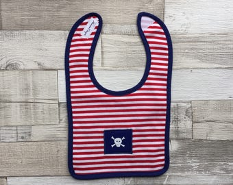Pirate Bib - New Baby Gift
