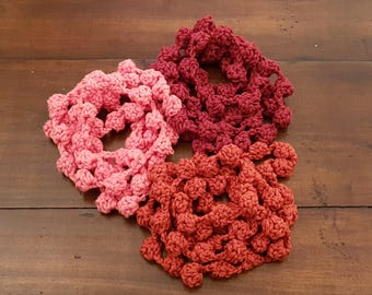 Pompom Scarf Necklace
