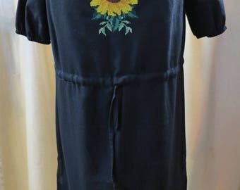 Women dress Ukrainian vyshyvanka embroidery dress embroidered dress Ukrainian clothing embroidery beads Handmade! Clothing gift ethno