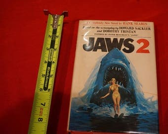 Jaws 2 Hardcover Book 1978