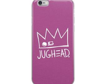 NEW! Ships VERY Fast! Jughead Phone Case, iPhone 6-X, Cute, Purple, Fun, Riverdale, Archie Comics, Veronica, Betty, Archie
