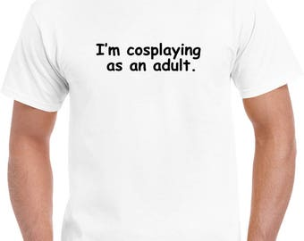 Cosplay Adult T-shirt