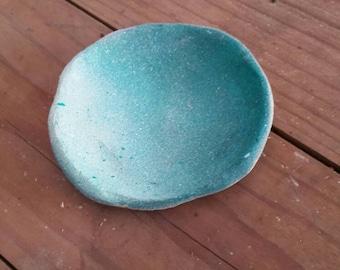 Blue Trinket Dish #1