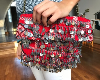 Moroccan berber clutch bag