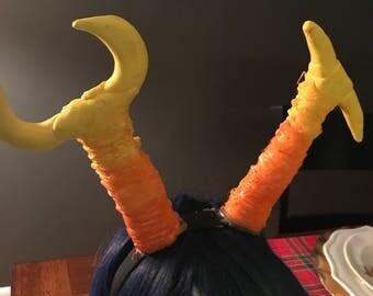 Homestuck horns-vriska skeret horns
