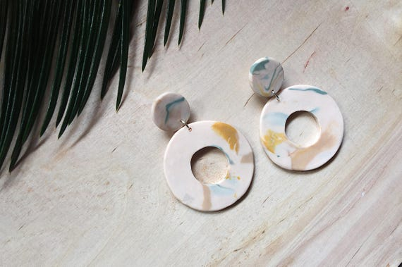 Ode Circle Earrings