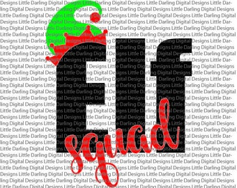 Elf Squad SVG, Shirt SVG, Christmas SVG