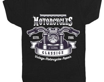 Hot Rod 16 Motorcycle Inspired Cafe Racer Motorbike Biker Gang Heavy Metal Rock Music Film Movie T Shirt 1