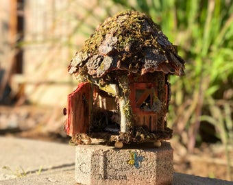 Handcrafted Wooden Fairy Houses