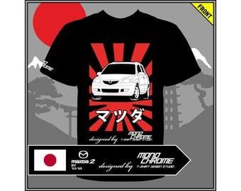 T-shirt Mazda Mazda2 DY '03-'05