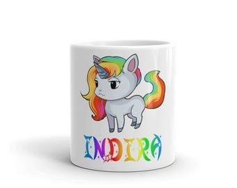 Indira Unicorn Mug