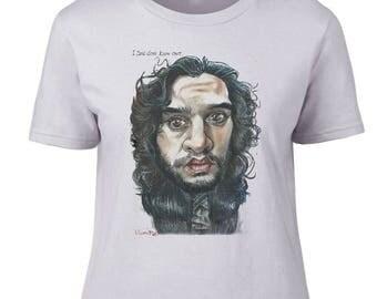 JonSnow Ladies T-shirt.