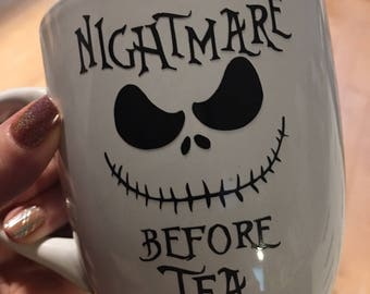Nightmare before Tea - Jack Skellington Mug