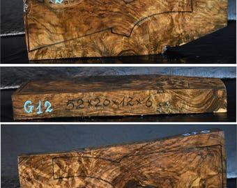 Circassian Walnut Gunstock Shotgun Blank.