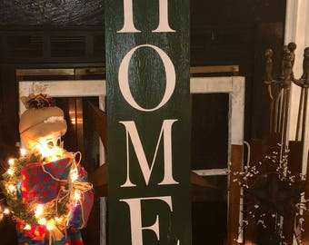 HOME Welcome Sign
