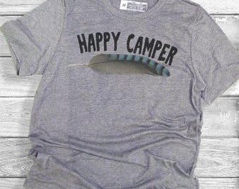 Happy Camper T-Shirt (more color options)
