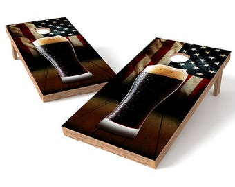 Beer Corn Hole Boards
