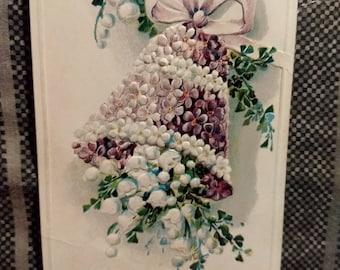 Vintage 1911 With Fond Love Postcard