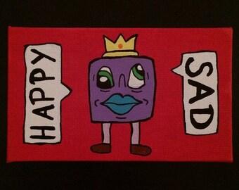 Happy : Sad