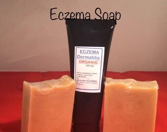 Eczema, dermatitis soap & cream Organic