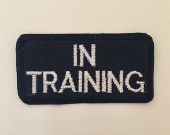 In training patch