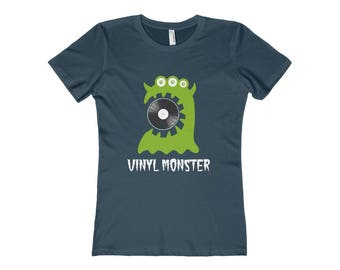 WomenS Vinyl Monster