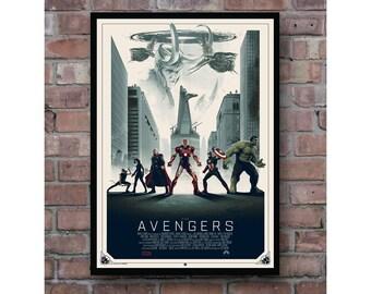 The Avengers Hawkeye Black Widow Thor Iron Man Captain America In The Shadow Of Loki Artwork Superhero Home Decoration Poster