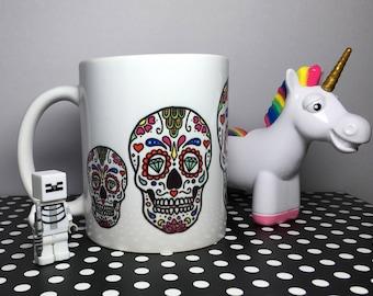 5 Sugar Skulls Mug