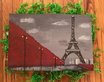 Custom Eiffel Tower Journal