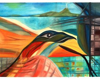 """Oil """"Fire Bird"""""""