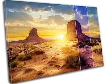 Grand Canyon Desert Canvas Print Home Decor- Abstract Wall Art - Modern Prints - Ready To Hang