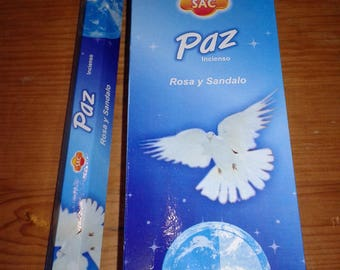 Paz SAC Incense 120 Rods/6 by 20 Uni