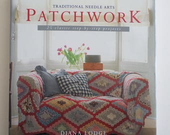 patchwork quilting  book, quilt pattern book, Traditional Needle Arts Patchwork