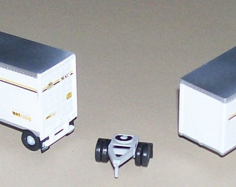 New athearn custom 28ft trailers