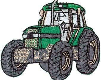 Tractor appliqué Patch Application #9194