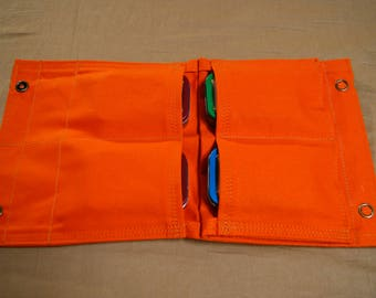 Hunters Pouch 5 Pockets. Bush Crafting, Camping, Hiking, Fishing, Outdoors, First Aid, Household, Cosmetics, Gardening.