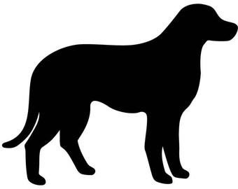 Labrador Car Decal