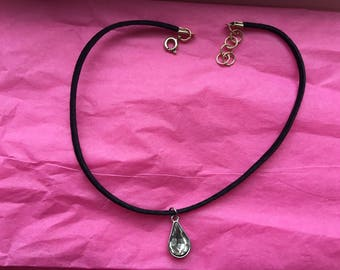 April Birthstone Choker Necklace