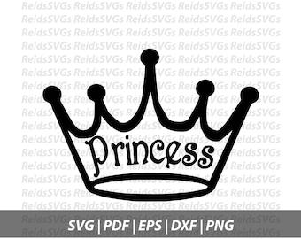 Princess Crown SVG | Cricut | Silhouette | Cutting Machines