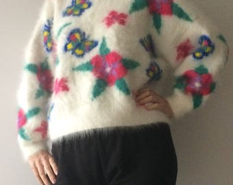 Mohair Tight Knit Sweater