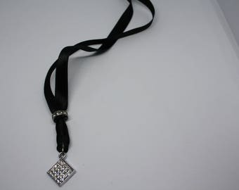 Pendant with rhinestones