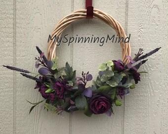 Midnight Willow Wreath