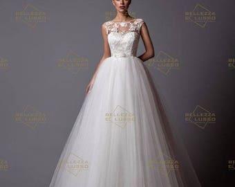 Bridal gown wedding dress by Bellezza e Lusso-model Felicia