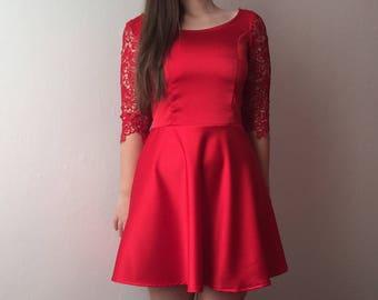 MOON Dress - MOON Dress - Elegant Macrame dress