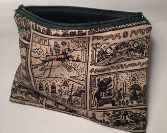 Legend of Zelda Link zipper pouch