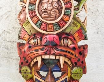Mask of the Mayan calendar