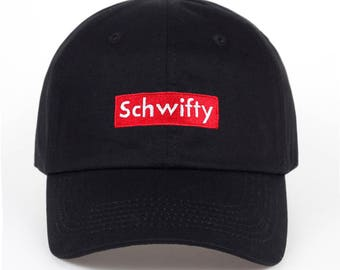 Rick and Morty Cap, Baseball Cap, Schwifty Cap, Get Schwifty cap,
