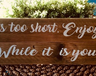 Rustic Timber Sign,Recycled Timber